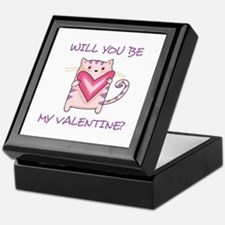 BE MY VALENTINE Keepsake Box