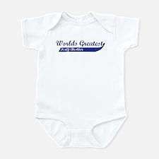 Greatest Half-Brother (blue) Infant Bodysuit