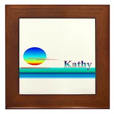 Kathy Framed Tile
