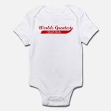 Greatest Great Uncle (red) Infant Bodysuit