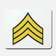 """Army E5 """"Class A's"""" Mousepad"""