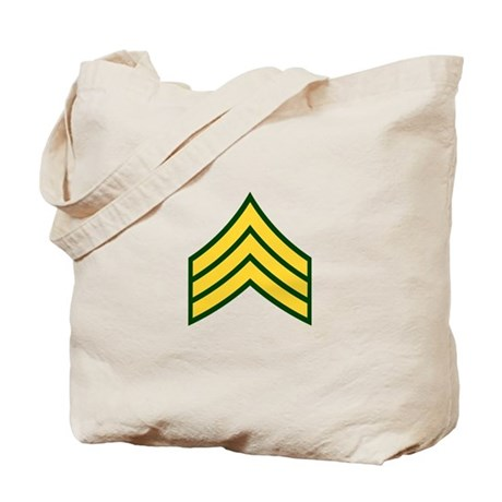 "Army E5 ""Class A's"" Tote Bag"
