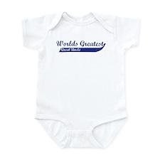 Greatest Great Uncle (blue) Infant Bodysuit