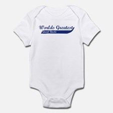 Greatest Great Uncle (blue) Infant Bodysuit