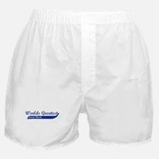 Greatest Great Uncle (blue) Boxer Shorts