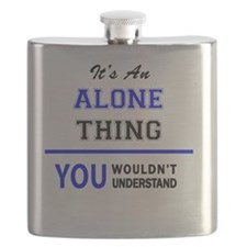Cute You alone Flask