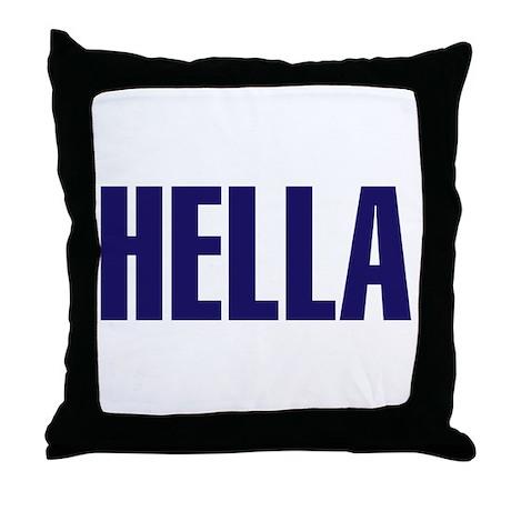 Hella Throw Pillow