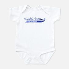 Greatest Great Grandpa (blue) Infant Bodysuit