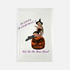 Treat Witch Rectangle Magnet