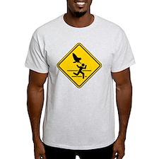 Oregon Owl Attack Warning T-Shirt