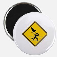 Oregon Owl Attack Warning Magnet