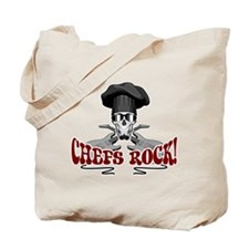 Chefs Rock Tote Bag