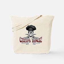 Chefs Rock Tote Bag