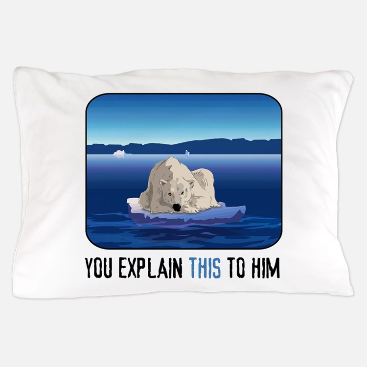 Arctic Polar Bear Pillow Case