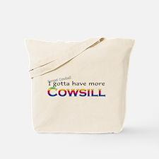 More Cowsill Rainbow Tote Bag