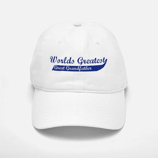 Greatest Great Grandfather (b Baseball Baseball Cap