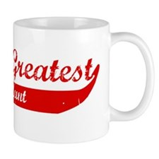 Greatest Great Aunt (red) Mug