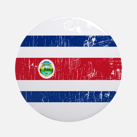Vintage Costa Rica Ornament (Round)