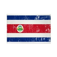 Vintage Costa Rica Rectangle Magnet