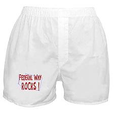 Federal Way Rocks ! Boxer Shorts