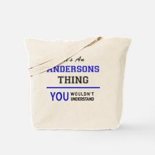 Funny Anderson Tote Bag