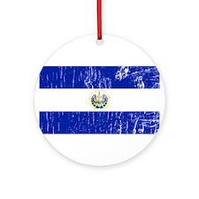 Vintage El Salvador Ornament (Round)