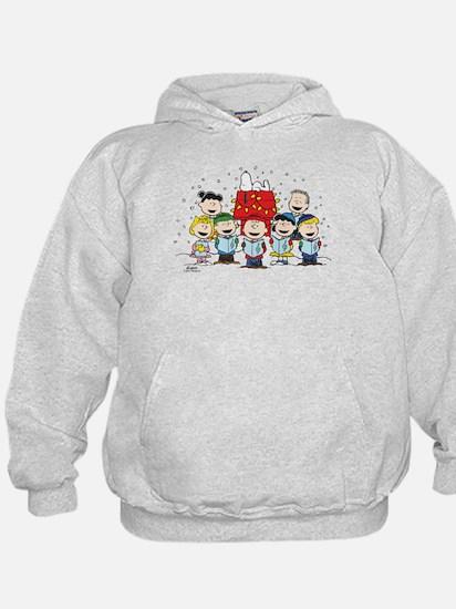 Peanuts Gang Christmas Hoody