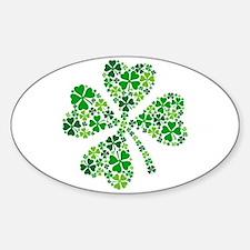 lucky four-leaf clover Decal