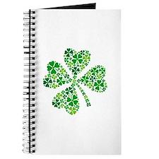 lucky four-leaf clover Journal