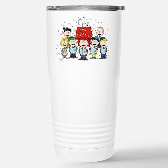 Peanuts Gang Chri Travel Mug