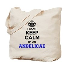 Funny Angelica Tote Bag