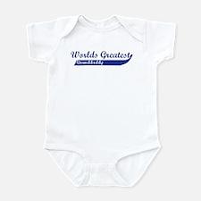 Greatest Granddaddy (blue) Infant Bodysuit