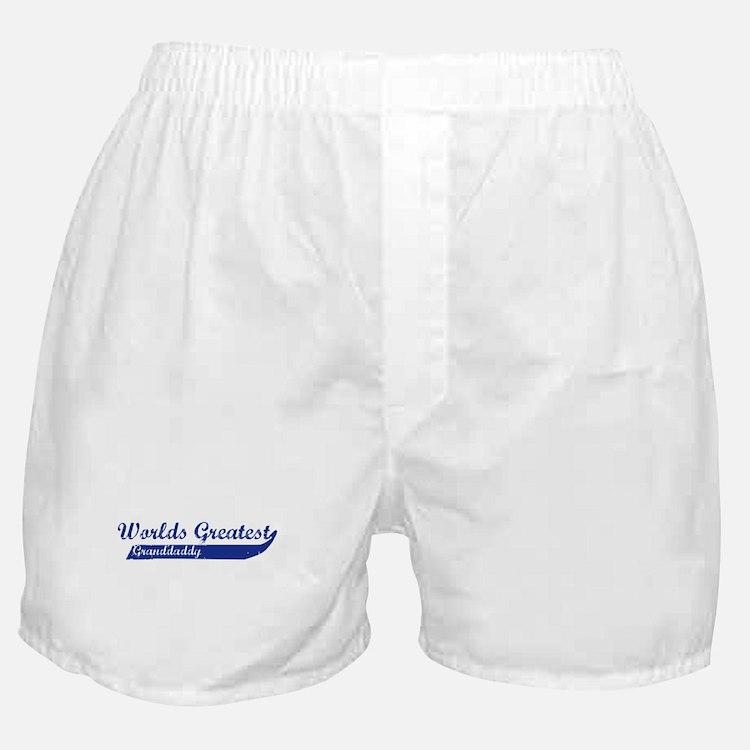 Greatest Granddaddy (blue) Boxer Shorts