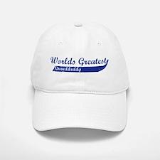 Greatest Granddaddy (blue) Baseball Baseball Cap
