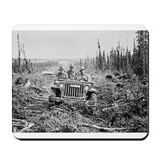 Alaska jeep - Mousepad