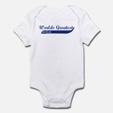 Greatest Godson (blue) Infant Bodysuit