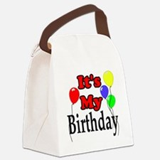 Its My Birthday Canvas Lunch Bag