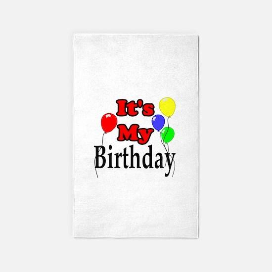 Its My Birthday Area Rug