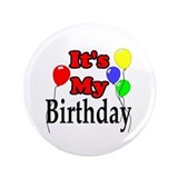 "Its my birthday 3.5"" Round"