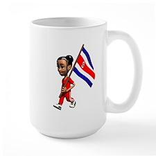Costa Rica Girl Mug