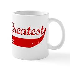 Greatest Fiance (red) Mug