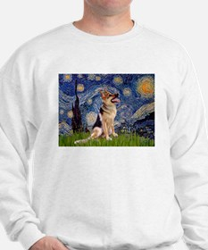 Starry Night & German Shepherd 1 Sweatshirt