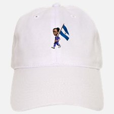 El Salvador Girl Baseball Baseball Cap