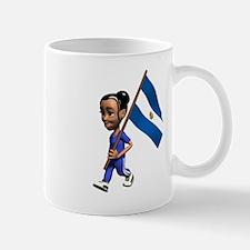 El Salvador Girl Mug
