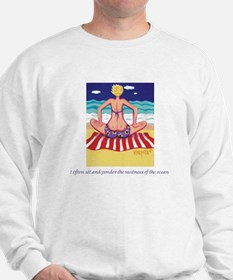 Pondering the Ocean Sweatshirt