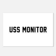USS Monitor Postcards (Package of 8)