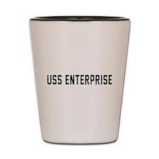 USS Enterprise Shot Glass