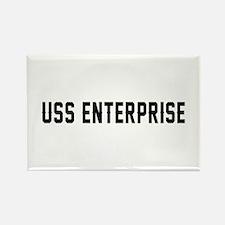USS Enterprise Rectangle Magnet