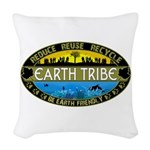 Earth Tribe Woven Throw Pillow