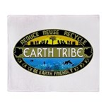 Earth Tribe Throw Blanket
